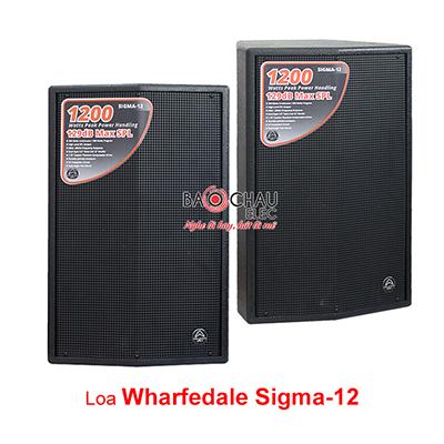 Loa Wharfedale Sigma 12 (full bass 30cm)