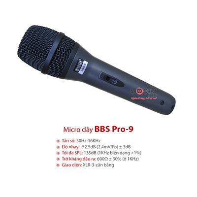 Micro có dây BBS PRO 9