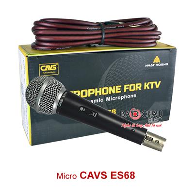 Micro có dây CAVS ES68