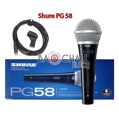 Micro có dây Shure PG58