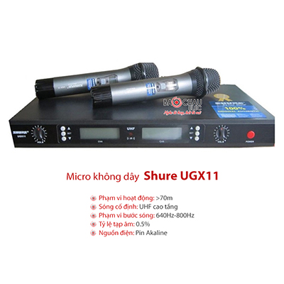 Micro Shure UGX11