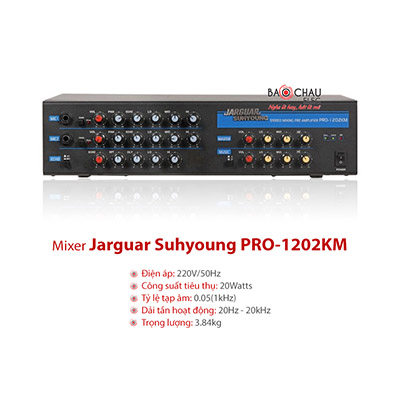 Vang cơ Jarguar PRO 1202KM