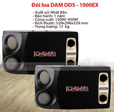 Loa DAM DDS-1000EX (bass 25cm)