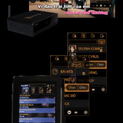 HANET KARAOKE HD7P Đầu Karaoke HD chạy Android thông tin giá cả