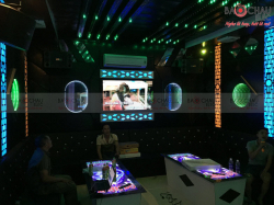 Lắp đặt 4 phòng hát karaoke chuyên nghiệp Xanh Đỏ - Cao Bẳng