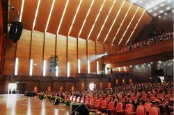 Lắp đặt dàn âm thanh sân khấu cho trường Liên Cấp Tây Hà Nội