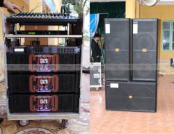 Lắp đặt dàn âm thanh sân khấu chuyên nghiệp cho trường THPT Lục Nam