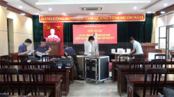 Lắp đặt hệ thống âm thanh phòng họp cho Cục lưu trữ Trung Ương Đảng - Hà Nội