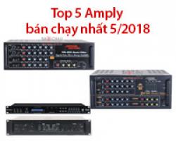 Top 5 Amply bán chạy nhất tháng 5-2018 tại Bảo Châu Audio