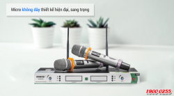 Top 5 Micro không dây bán chạy nhất tháng 6/2018 tại Bảo Châu Audio