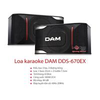Loa DAM DDS-670EX (bass 25cm)