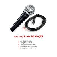 Micro dây Shure PG58-QTR