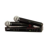 Bộ micro Shure BLX288A/SM58 (2micro)