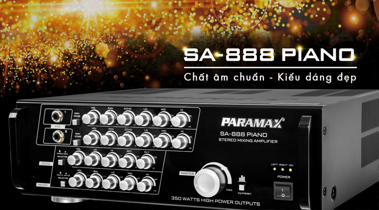 Amply Paramax SA888 Piano New