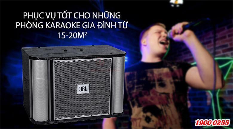 JBL RM10II phục vụ tốt cho những phòng karaoke gia đình từ 15-20m2