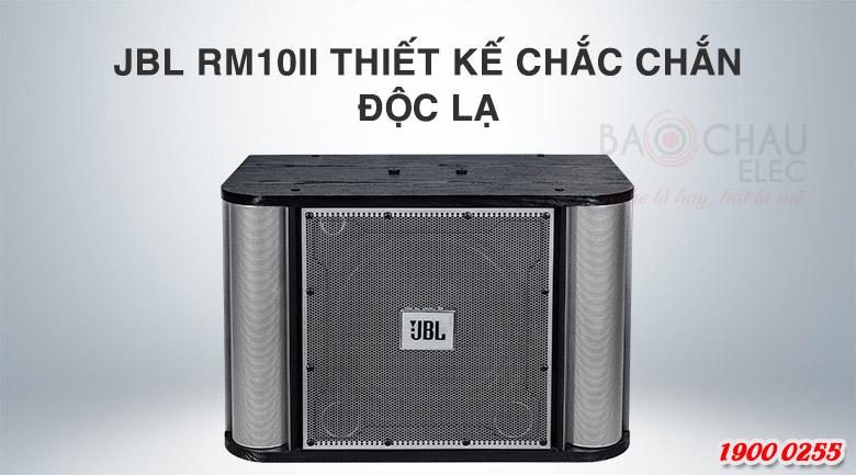 JBL RM10II có thiết kế chắc chắn, độc lạ
