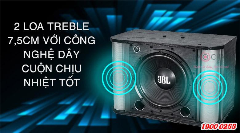 2loa treble 7,5cm của JBL RM10II có công nghệ dây cuộn chịu nhiệt tốt