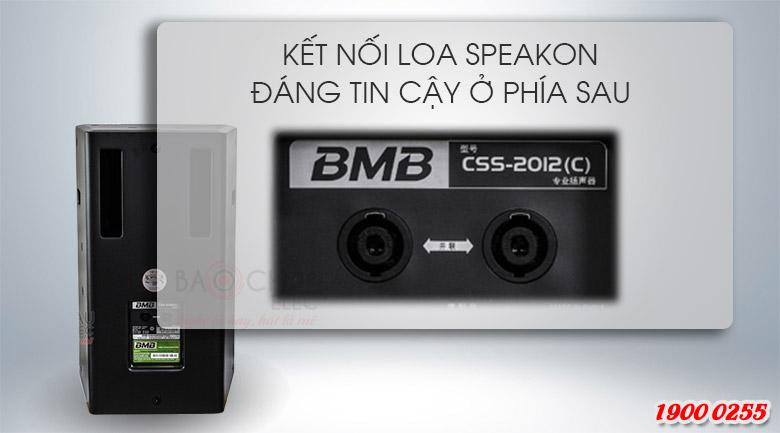 Kết nối SpeakON đáng tin cậy ở phía sau của BMB CSS-2012(C)