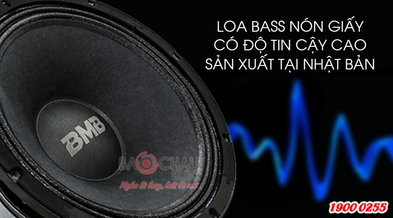 Loa bass nón giấy có độ tin cậy cao sản xuất tại Nhật Bản của BMB CSS-2012(C)