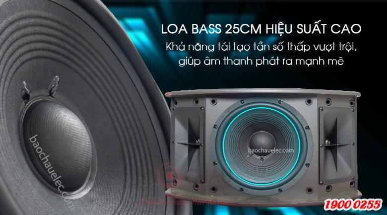 Loa bass 25cm của JBL Ki310 cho hiệu suất cao