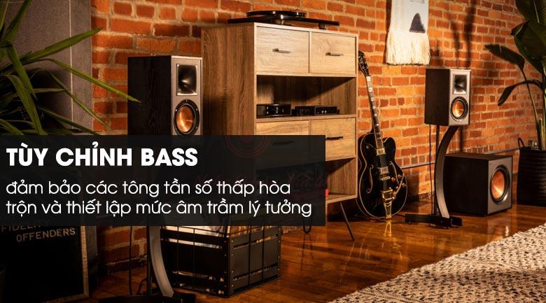Tùy chỉnh bass phong phú