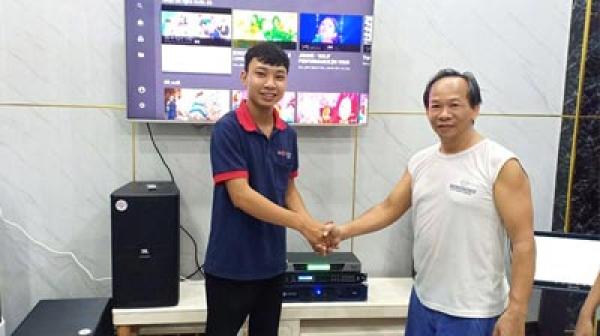 Lắp đặt bộ dàn karaoke VIP cho gia đình chị Linh (Q12-TP.HCM)