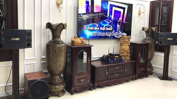 Lắp đặt dàn karaoke gia đình cao cấp cho anh Sơn (Thanh Xuân, HN)