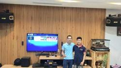 Lắp đặt dàn karaoke gia đình cao cấp cho chị Linh (Đà Nẵng)