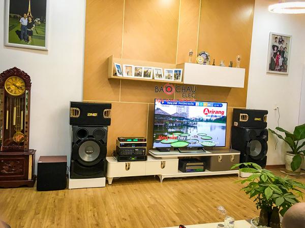 Lắp đặt dàn karaoke gia đình cô Trâm  tại Tam Kỳ Quảng Nam