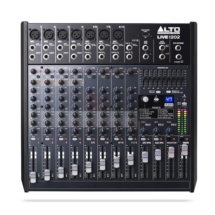 Bàn mixer Alto Live1202 (12kênh/2bus)