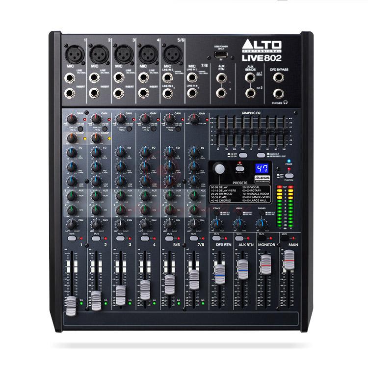 Bàn mixer Alto Live802