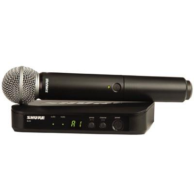 Bộ micro không dây Shure BLX24A/SM58 (1 mic)