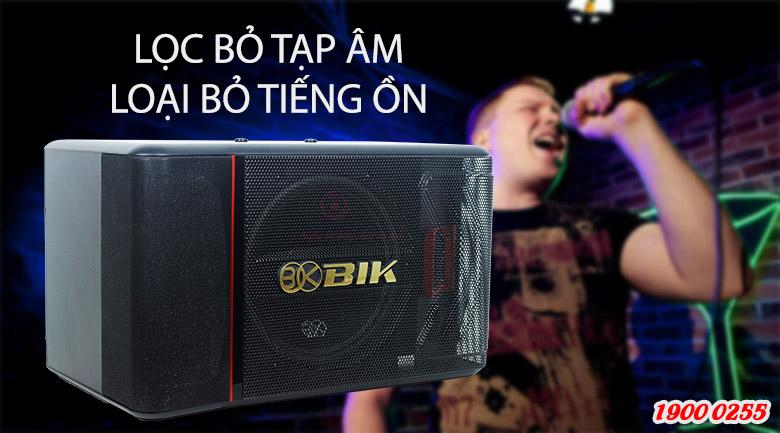 loa BIK BJ-S886II lọc bỏ tạp âm tốt