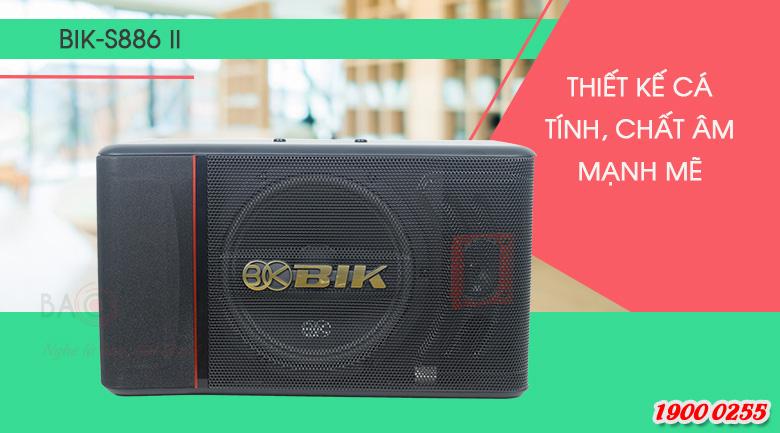 Tổng quan thiết kế của loa BIK BJ-S886II