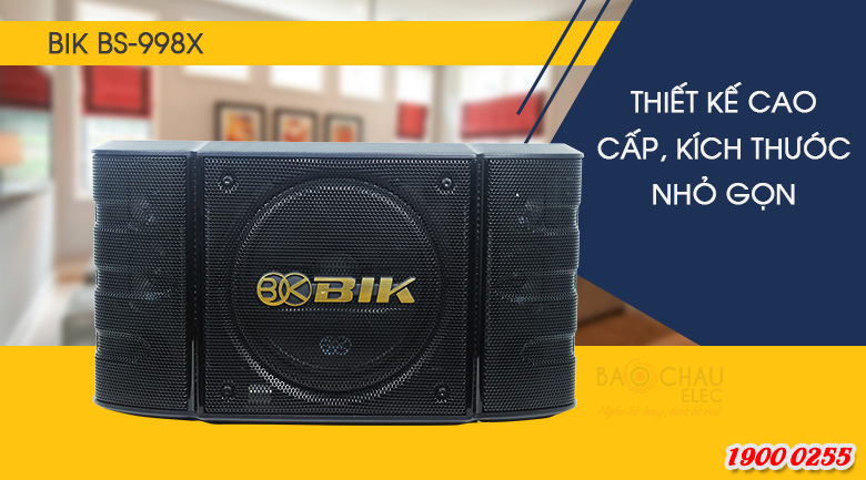 Sựnổi trội trong thiết kế Loa BIK BS-998X