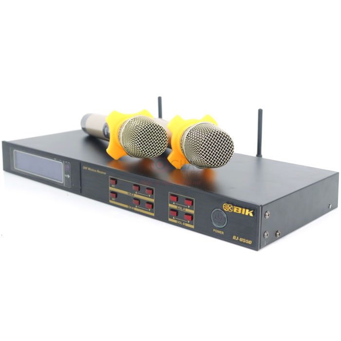 Micro không dây BIK BJ-U550