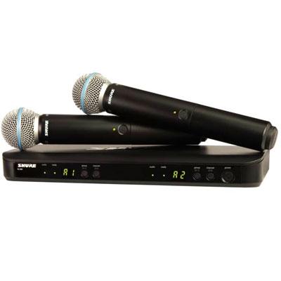 Bộ micro Shure BLX288A/B58 (2micro)
