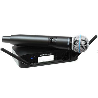 Bộ micro không dây Shure GLXD24A/Beta58 (1mic)