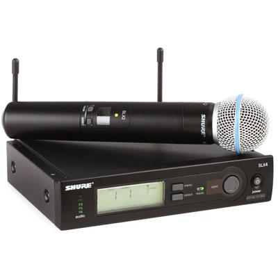 Bộ micro không dây Shure SLX24A/Beta58 (1mic)