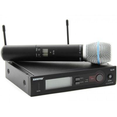 Bộ micro không dây Shure SLX24A/Beta87 (1mic)
