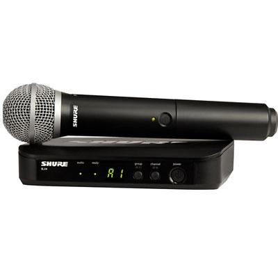 Bộ micro không dây Shure SVX24E/PG58 (1 mic)