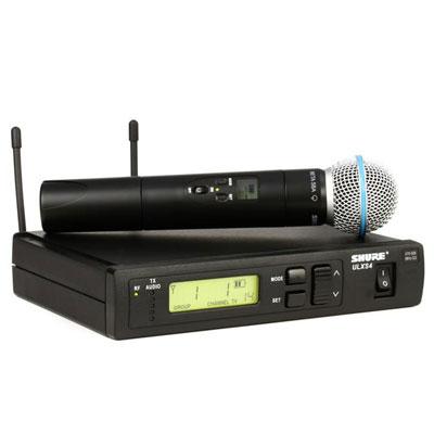 Bộ micro không dây Shure ULXS24/BETA58 (1micro)