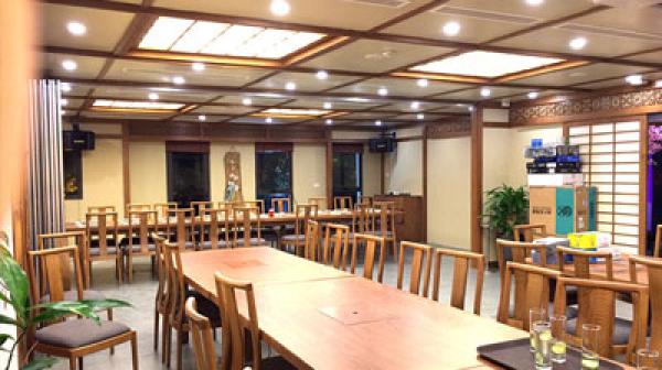 Lắp đặt dàn âm thanh giải trí cho nhà hàng Nhật Bản tại Hà Nội