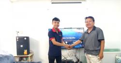 Lắp đặt dàn karaoke cao cấp cho gia đình chú Nghiệp tại Phú Nhuận (TP.HCM)