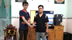 Lắp đặt dàn karaoke cao cấp của gia đình anh Sự ở Biên Hoà