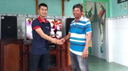 Lắp đặt dàn karaoke hay của gia đình anh Phúc tại Long Thành (Đồng Nai)