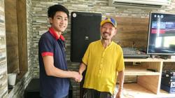 Lắp đặt dàn karaoke VIP gia đình cho chú Đạt tại Sóc Sơn - HN