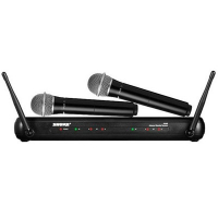 Bộ micro không dây Shure SVX288E/PG58 (2 mic)