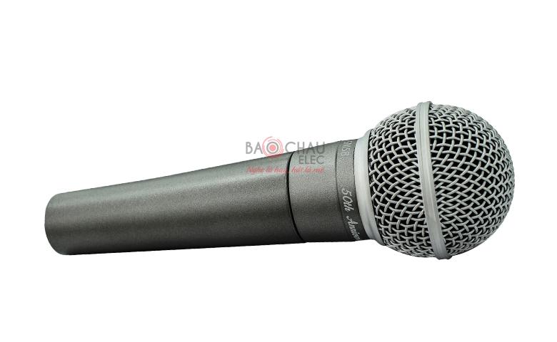 Micro có dây Shure SM58-50A (Ver 50 năm)