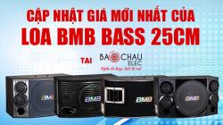 Giá loa BMB bass 25 mới nhất 2019. Loa BMB Nhật Bản chính hãng